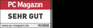 "Scores ""Very Good"", PC Magazin Test"