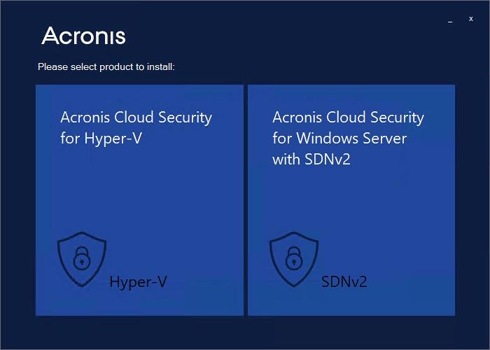 Acronis Cloud Security